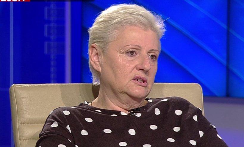 Nela Secară, victima unui procuror din Oradea. Femeia, hărțuită după acuzare, protestează la Cotroceni 16