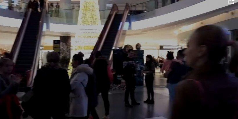 Panică la mall! Alertă la un important centru comercial din București (VIDEO)