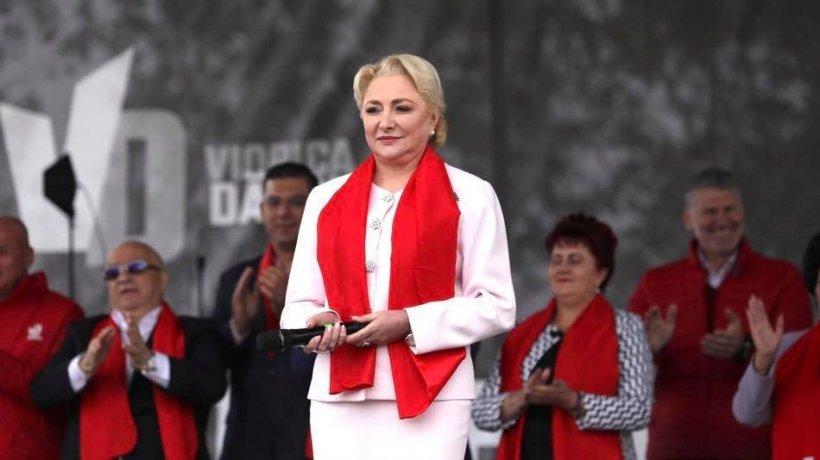 """Viorica Dăncilă, la final de mandat: """"De astăzi, PSD intră în mod oficial în opoziție"""" 534"""