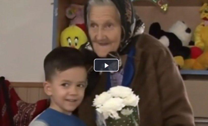 Bunica Sofia, cea mai în vârstă angajată din sistemul de învăţământ, a împlinit 84 de ani