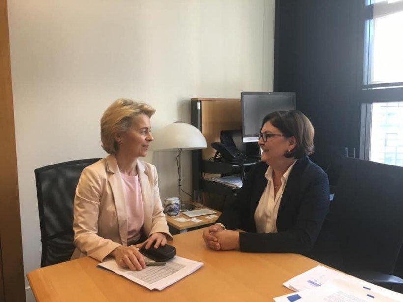Adina Vălean a fost acceptată pentru funcția de comisar european