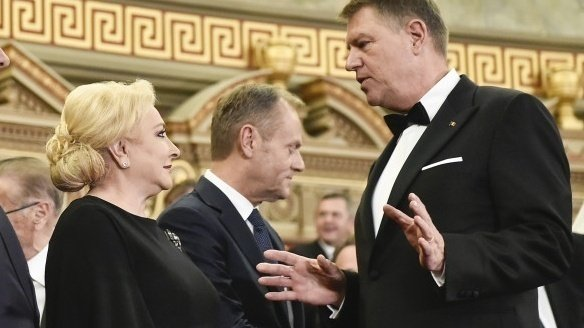 ALEGERI PREZIDENȚIALE 2019. Viorica Dăncilă, despre o posibilă dezbatere în turul doi: E important pentru cetăţeni să asculte ce a făcut Iohannis ca preşedinte şi eu ca premier 72