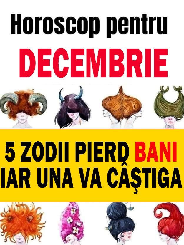 HOROSCOP. 5 zodii pierd bani în Decembrie, iar una va câştiga