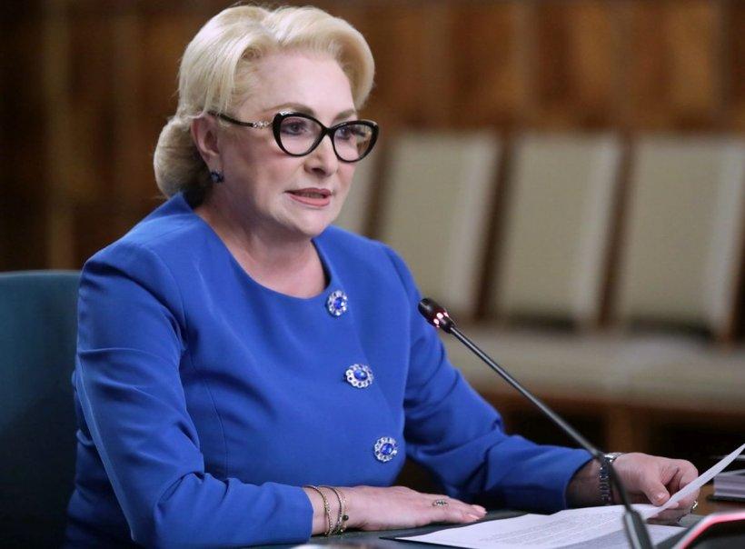 Viorica Dăncilă, conferință de presă la Palatul Parlamentului de la ora 18