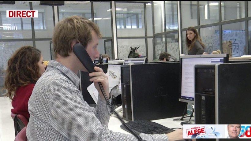 Call center-ul Antena 3 va fi deschis şi în ziua celui de-al doilea tur al alegerilor prezidenţiale