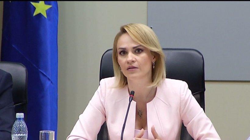 Gabriela Firea, atac dur după apariția lui Gabriel Oprea la sediul PSD