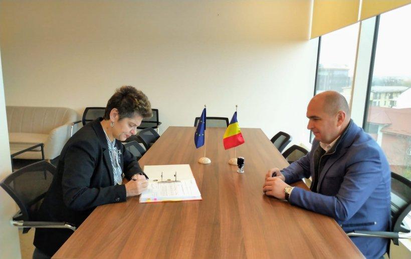 Contractul de finanțare pentru reabilitarea sistemului de termoficare din Oradea a fost semnat astăzi