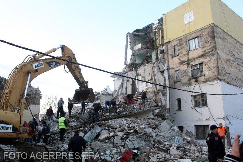 Imagini terifiante surprinse imediat după cutremurul din Albania. Sunt cel puţin 13 morţi şi 600 de răniţi - VIDEO