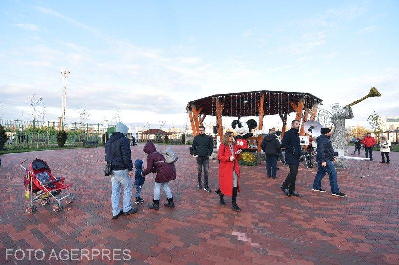 Cel mai nou parc din Bucureşti a fost inaugurat