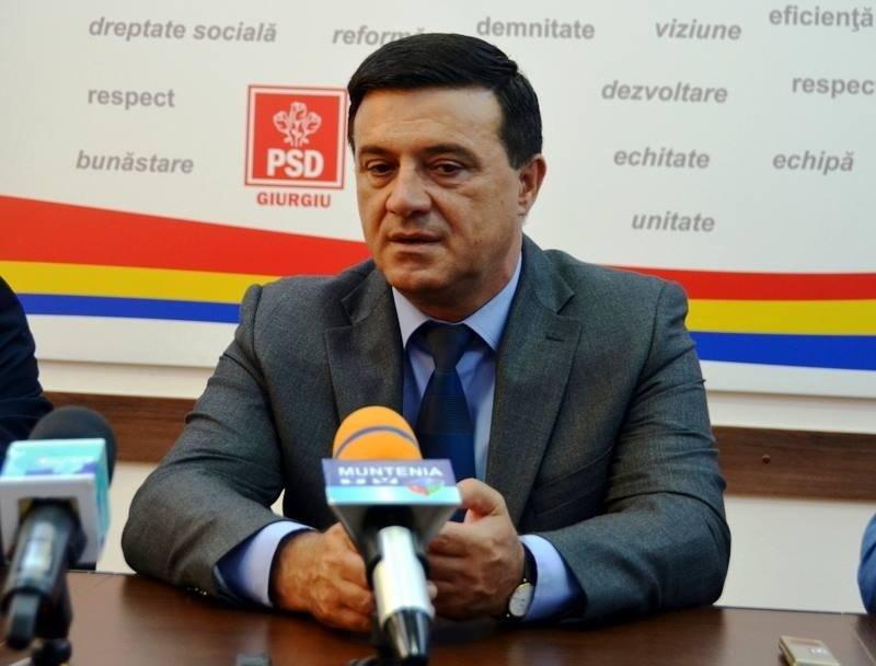 Niculae Bădălău s-a retras din conducerea interimară a PSD