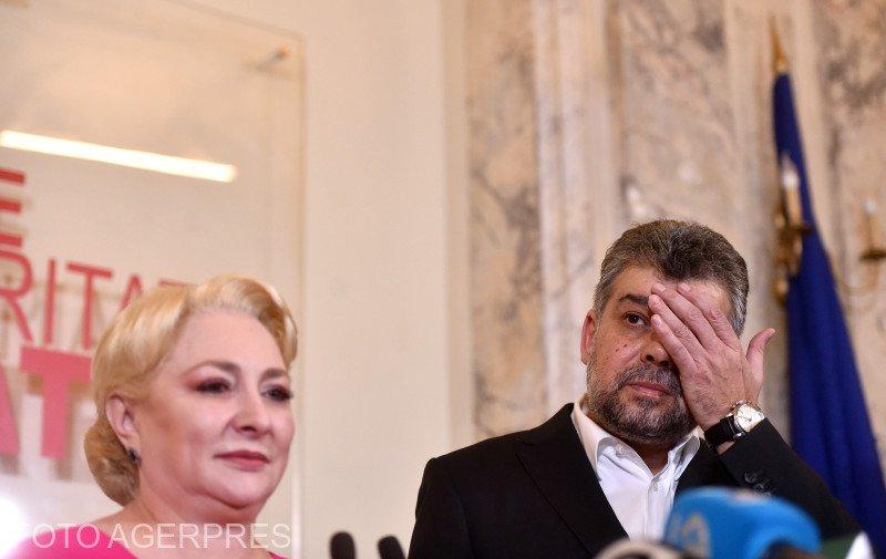 """Marcel Ciolacu, noul lider al PSD: """"A fost o greșeală candidatura Vioricăi Dăncilă la prezidențiale"""""""