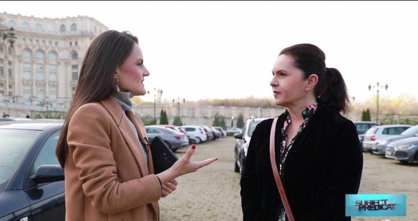 """Subiect și Predicat. Adriana Săftoiu: """"Dacă îi scoți din politică, mulți politicieni sunt fără loc de muncă"""""""