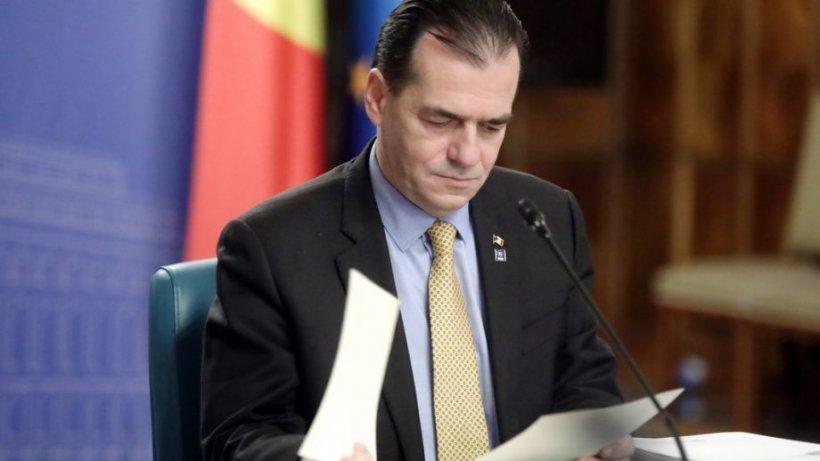 Guvernul Orban, ședință crucială pe asumarea răspunderii