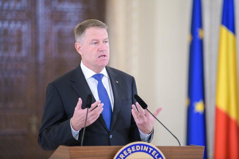 """Klaus Iohannis, de acord să aibă indemnizaţia de preşedinte îngheţată: """"E nevoie de un mix de măsuri pentru reducerea deficitului"""""""