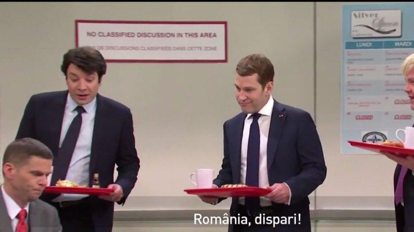România, umilită într-o parodie cu Emmanuel Macron - VIDEO