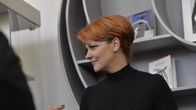 Lia Olguţa Vasilescu: A început telejustiţia! Trebuie acoperită şi creşterea vârstei de pensionare cu ceva!