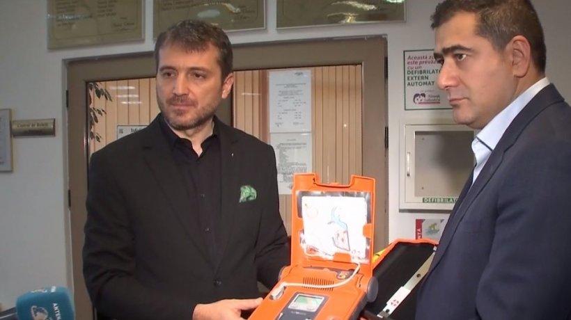 Povestea omului care a donat un defibrilator Primăriei Sectorului 2