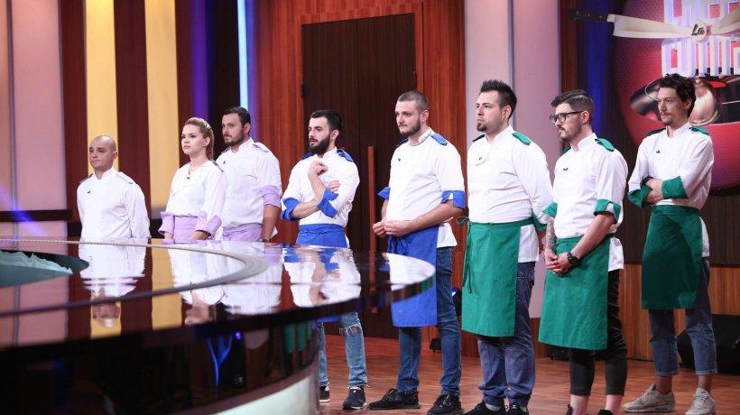 CHEFI LA CUȚITE. Cine a pierdut ultima bătălie din showul culinar? Cine sunt cei nouă semifinaliști