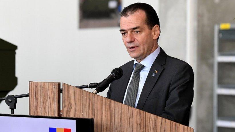 Ludovic Orban, mărturisire despre deficit: Nu poate fi atins