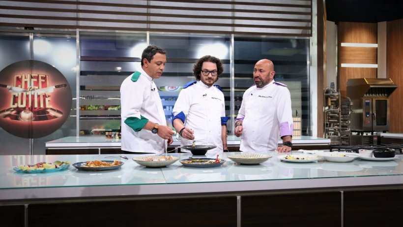 CHEFI LA CUȚITE. Momente tensionate în showul culinar