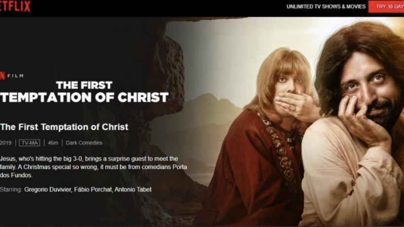 Dar de Crăciun de la Netflix: Iisus gay!