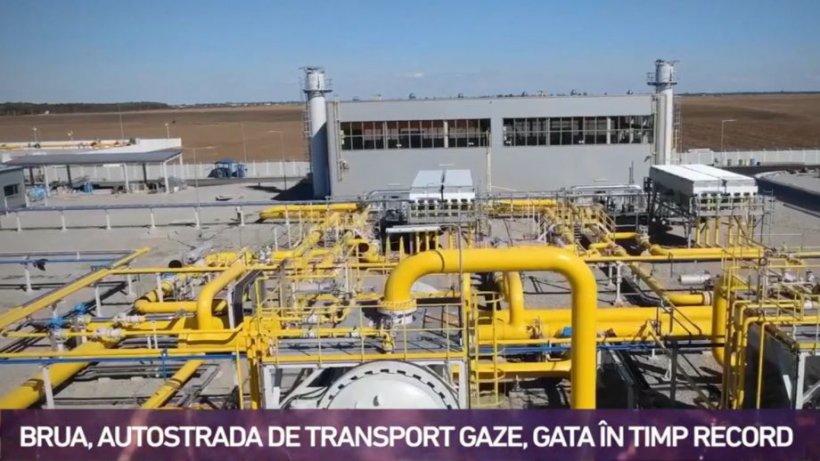 Români care dezvoltă România. BRUA, autostrada de transport de gaze, gata în timp record