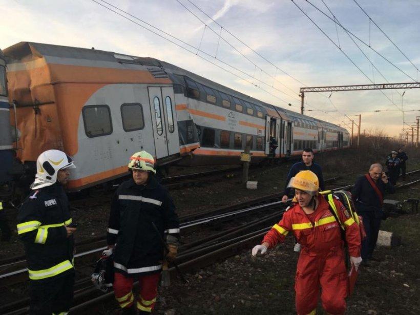 Noi informații după accidentul feroviar de la Ploiești. Mecanicii de locomotivă pot fi epuizați