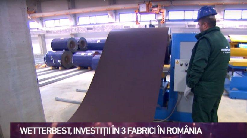 Români care dezvoltă România. Wetterbest, investiții în trei fabrici în România