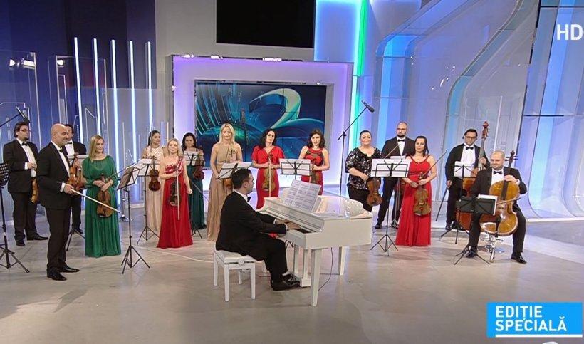 Premieră în platoul Antena 3! Concert de excepție oferit de Orchestra Simfonică București