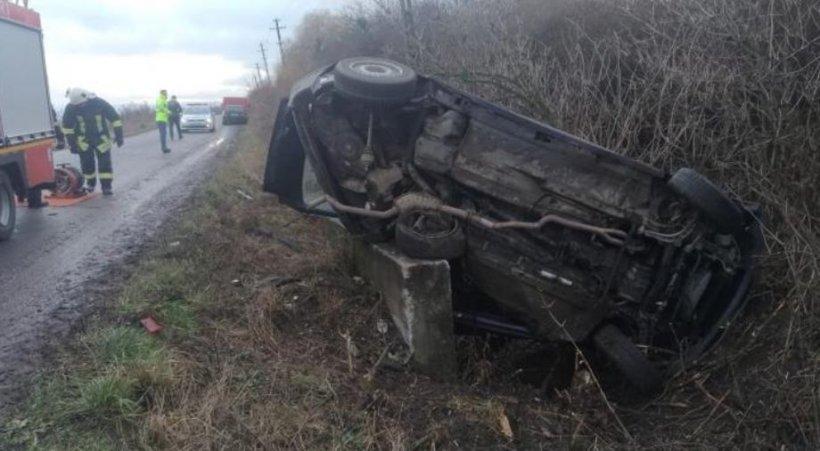 Un alt accident tragic: Un adolescent de 16 ani a murit la volanul mașinii în care se afla