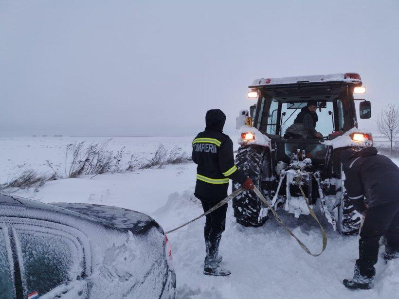 Ministerul Transporturilor: Suntem pregătiţi ca traficul în condiţii de iarnă să se desfăşoare în siguranţă