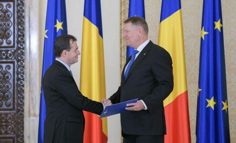 Primele șicane între Klaus Iohannis și Ludovic Orban