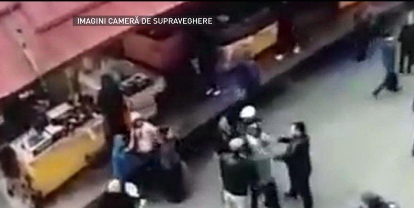 Primele imagini de la crima odioasă din Târgu-Jiu