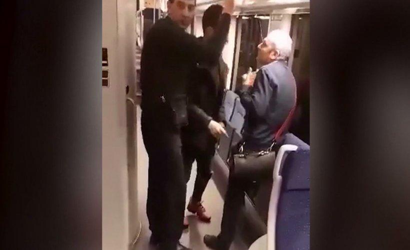Călătorii unui tren care se îndrepta spre Timișoara, terorizați de trei libieni. Au încercat să fure de la pasageri