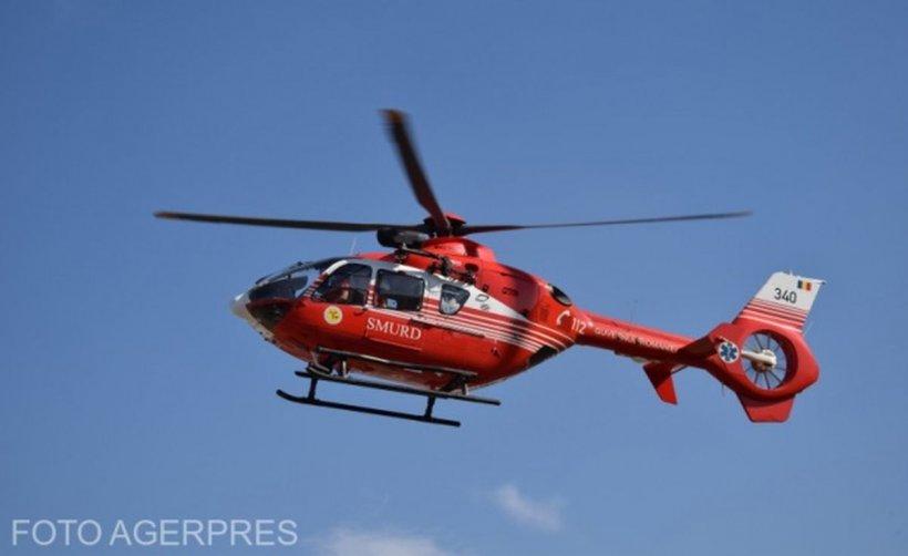 Elicopter SMURD, la un pas de tragedie din cauza unei defecțiuni tehnice. Abia predase un pacient la Cluj