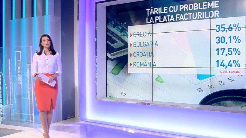 Ţările cu probleme la plata facturilor. Ce loc ocupă România