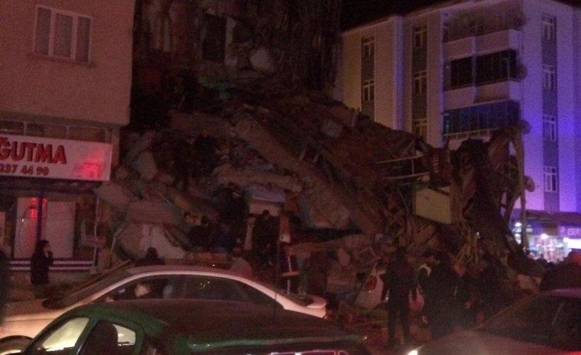 Cutremur de 6,8 grade în estul Turciei. Mai multe persoane au murit, iar numeroase clădiri au fost distruse