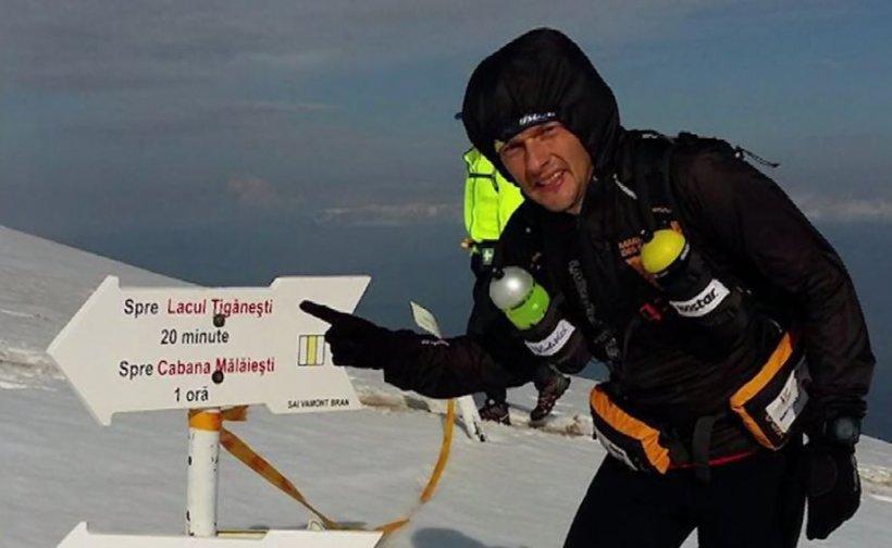 Eroul zilei. Andrei Gligor, românul care aleargă mii de kilometri