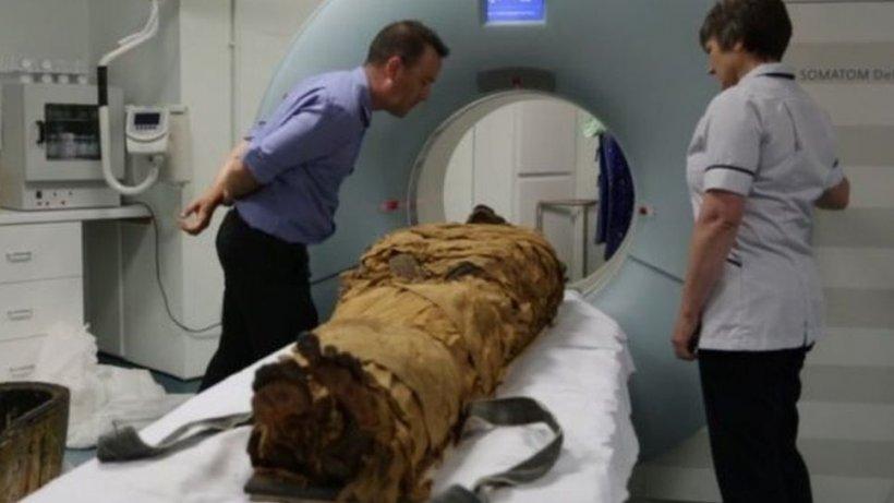 Vocea unei mumii moartă de 3.000 de ani s-a auzit pentru prima dată