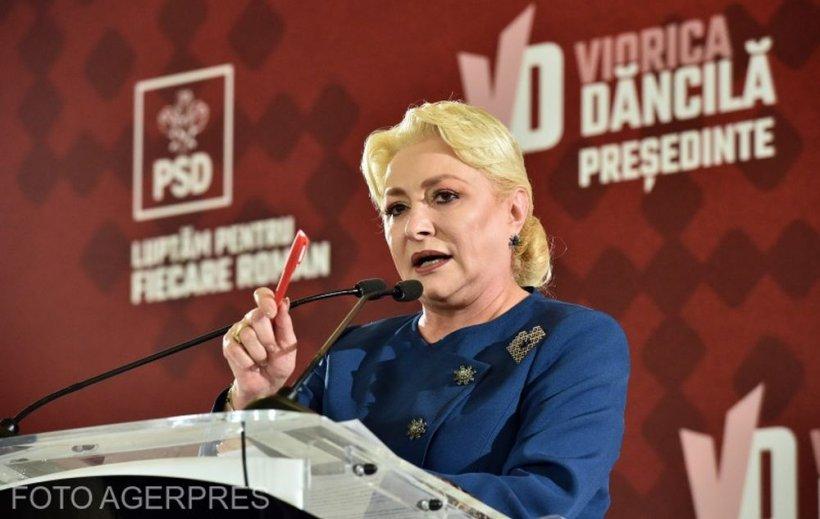 Viorica Dăncilă, atacuri în rafală la Florin Cîțu
