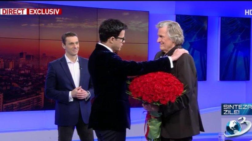 Antena 3, lider la aniversarea lui Florin Piersic