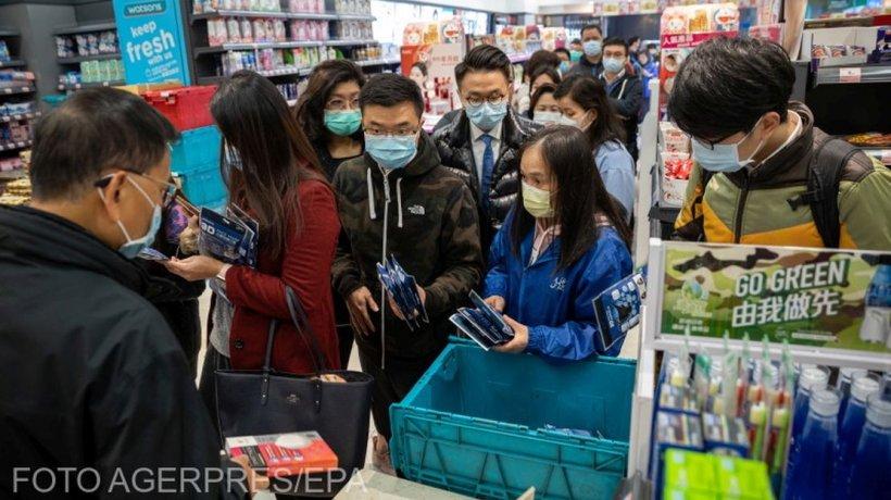 Amendă record pentru o farmacie care a crescut prețul la măștile sanitare, în plină epidemie de coronavirus care a aruncat China în criză