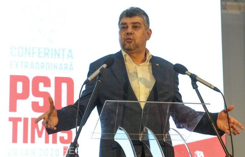 PSD își numără voturile pentru moțiunea de cenzură