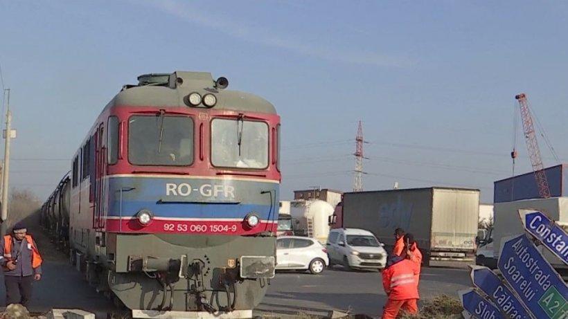 Trecerile peste calea ferată, pericol pentru şoferi