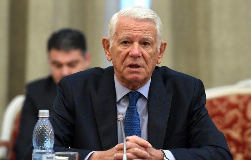 Teodor Meleșcanu și-a anunțat retragerea de la șefia Senatului