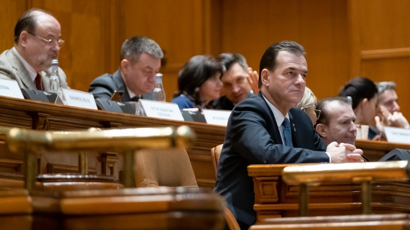 Guvernul Orban a fost demis. Moțiunea de cenzură a trecut cu 261 de voturi favorabile
