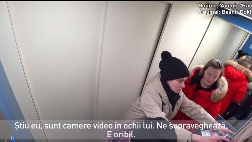 Un vlogger a pus portretul lui Putin în liftul unui bloc din Moscova. Cum au reacţionat ruşii - VIDEO