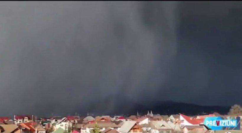 Fenomene meteo extrem de rare în România, aduse de furtuna Sabine - ninsori cu tunete şi fulgere, şi tornade specifice verii - VIDEO