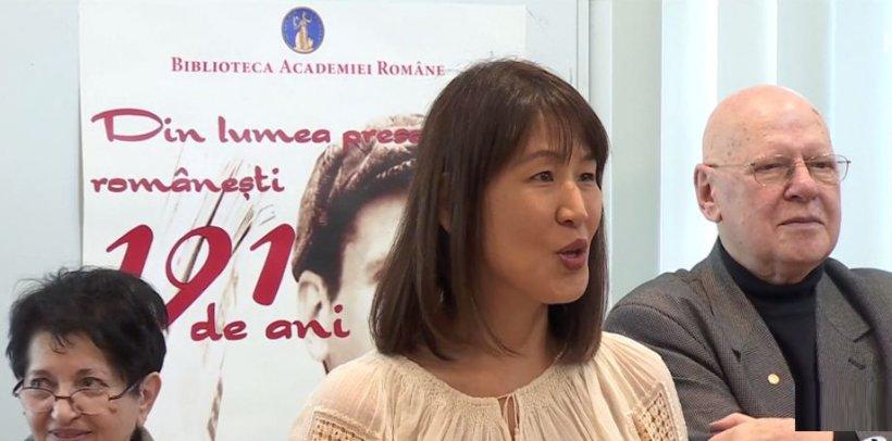 O japoneză stabilită în România, îndrăgostită de Mihai Eminescu