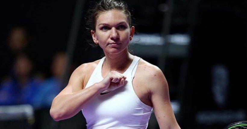 """Simona Halep, prima declarație după ce a învins-o pe Ons Jabeur în optimi la Dubai: """"A fost un meci foarte dificil. Mă bucur că am câștigat"""""""
